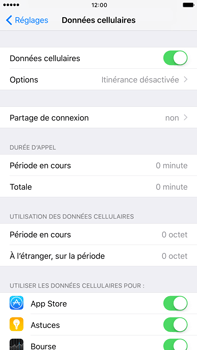 Apple Apple iPhone 6s Plus iOS 10 - Internet - Configuration manuelle - Étape 4