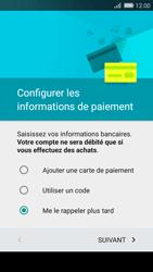 Huawei P8 Lite - Premiers pas - Créer un compte - Étape 19