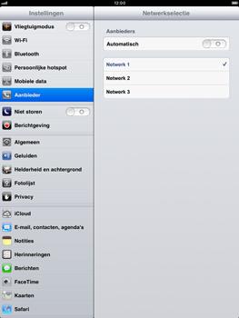 Apple iPad mini - Netwerk - gebruik in het buitenland - Stap 9