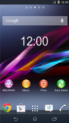 Sony C6903 Xperia Z1 - Internet - Populaire sites - Stap 1