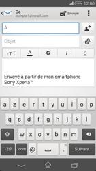 Sony Xpéria Z3 - E-mails - Envoyer un e-mail - Étape 5