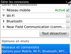 BlackBerry 9360 Curve - Internet - Activer ou désactiver - Étape 4