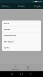 Huawei Ascend G7 - Mensajería - Configurar el equipo para mensajes de texto - Paso 5
