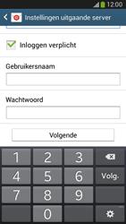 Samsung G386F Galaxy Core LTE - E-mail - Account instellen (IMAP zonder SMTP-verificatie) - Stap 13