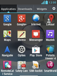 LG E430 Optimus L3 II - Internet - Handmatig instellen - Stap 2