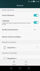 Huawei Ascend G7 - Bluetooth - Conectar dispositivos a través de Bluetooth - Paso 8
