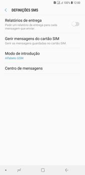 Samsung Galaxy A6 Plus DualSim - SMS - Como configurar o centro de mensagens -  11