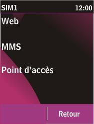 Nokia C2-03 - MMS - Configuration automatique - Étape 10