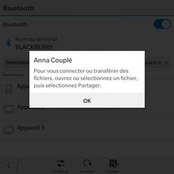 BlackBerry Passport - WiFi et Bluetooth - Jumeler votre téléphone avec un accessoire bluetooth - Étape 9