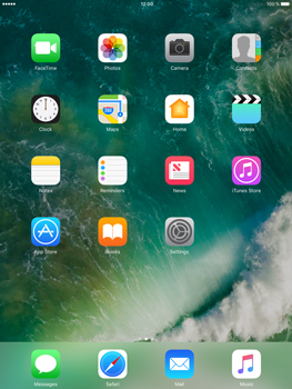 Apple iPad Air 2 iOS 10 - iOS features - Delete and Restore default iOS Apps - Step 6