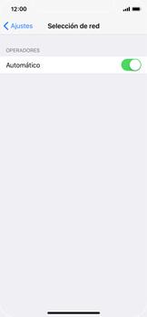 Apple iPhone X - Red - Seleccionar una red - Paso 4