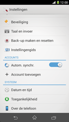 Sony C6903 Xperia Z1 - Software update - update installeren zonder PC - Stap 4