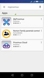Huawei Y6 - Applications - MyProximus - Step 5