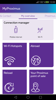 Huawei Mate S - Applications - MyProximus - Step 16