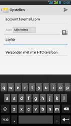 HTC Desire 516 - E-mail - E-mails verzenden - Stap 10
