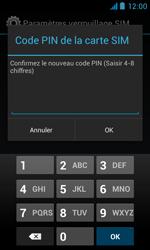 Bouygues Telecom Bs 402 - Sécuriser votre mobile - Personnaliser le code PIN de votre carte SIM - Étape 12