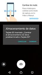 Sony Xperia XA1 - Funciones básicas - Uso de la camára - Paso 5