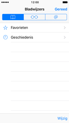 Apple iPhone 5s met iOS 10 (Model A1457) - Internet - Hoe te internetten - Stap 8