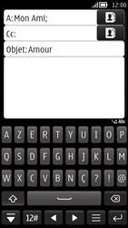 Nokia 808 PureView - E-mail - envoyer un e-mail - Étape 8