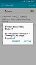 Samsung Galaxy A5 (2016) - Bluetooth - Conectar dispositivos a través de Bluetooth - Paso 7