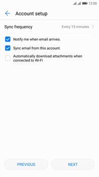 Huawei Mate 9 Pro - Email - Manual configuration IMAP without SMTP verification - Step 16
