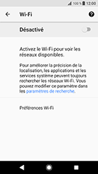 Sony Xperia XZ - Android Oreo - Wifi - configuration manuelle - Étape 5