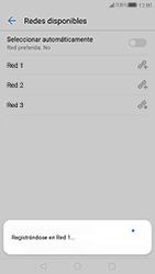 Huawei P10 - Red - Seleccionar una red - Paso 10