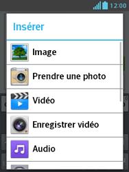 LG E430 Optimus L3 II - MMS - envoi d'images - Étape 12