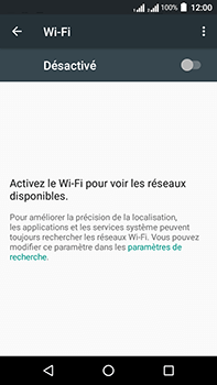 Acer Liquid Zest 4G Plus - WiFi et Bluetooth - Configuration manuelle - Étape 5