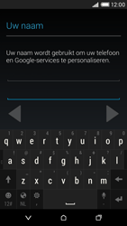 HTC Desire 816 4G (A5) - Applicaties - Account aanmaken - Stap 6