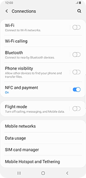 Samsung galaxy-s9-plus-android-pie - Network - Enable 4G/LTE - Step 5