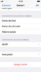 Apple iPhone 5s - iOS 12 - Email - Configurar a conta de Email -  25