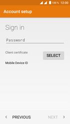 Crosscall Trekker M1 Core - E-mail - Manual configuration (outlook) - Step 7