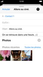 Apple iPhone SE - iOS 13 - E-mail - envoyer un e-mail - Étape 10