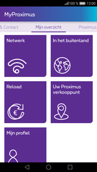 Huawei P9 - Applicaties - MyProximus - Stap 17