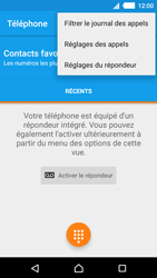 Sony E2303 Xperia M4 Aqua - Messagerie vocale - Configuration manuelle - Étape 5