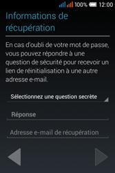 Alcatel OT-4015X Pop C1 - Premiers pas - Créer un compte - Étape 20