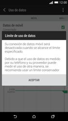 HTC One M8 - Internet - Ver uso de datos - Paso 9