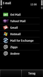 Nokia 500 - E-mail - Handmatig instellen - Stap 7