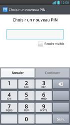 LG Optimus F6 - Sécuriser votre mobile - Activer le code de verrouillage - Étape 6