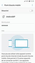 Samsung Galaxy A5 (2017) (A520) - Internet et connexion - Partager votre connexion en Wi-Fi - Étape 7