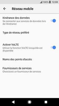 Sony Xperia XA2 Ultra - Aller plus loin - Désactiver les données à l'étranger - Étape 6