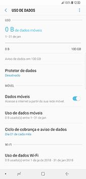 Samsung Galaxy S9 Plus - Internet no telemóvel - Como ativar os dados móveis -  7
