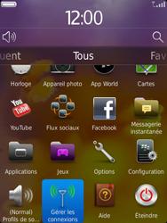BlackBerry 9810 Torch - Internet - Utilisation à l