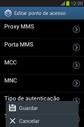 Samsung Galaxy Fame - Internet no telemóvel - Como configurar ligação à internet -  16
