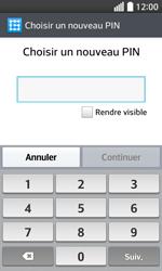 LG F70 - Sécuriser votre mobile - Activer le code de verrouillage - Étape 8