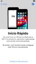 Apple iPhone 7 - iOS 13 - Primeiros passos - Como ativar seu aparelho - Etapa 7