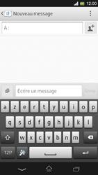 Sony Xpéria SP - Contact, Appels, SMS/MMS - Envoyer un SMS - Étape 5