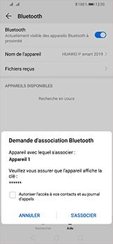 Huawei P Smart (2019) - Bluetooth - connexion Bluetooth - Étape 9