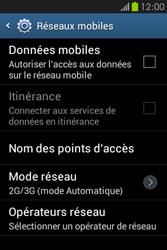 Samsung S6810P Galaxy Fame - Internet - activer ou désactiver - Étape 7
